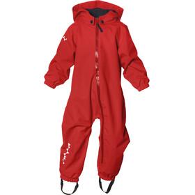 Isbjörn Hardshell Jumpsuit Børn rød